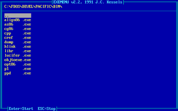 Program launchers, file managers and environments | freedos-repo